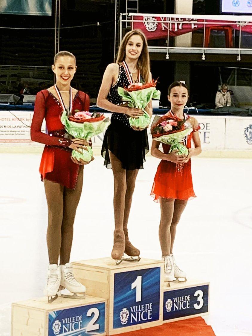 Noelle Streuli zdobywa trzecie miejsce w Nicei - pierwsze podium zawodów międzynarodowych w tym sezonie dla Polski❗️